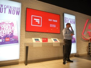 Argos shows offers has touchscreen digital signage in its shops