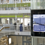 How to use large format displays in corporate communications