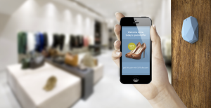 Companies like Estimote are producing beacons that personalise the signage experience