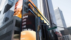Framestore created this series of data visualisations for Morgan Stanley's Times Sq. HQ