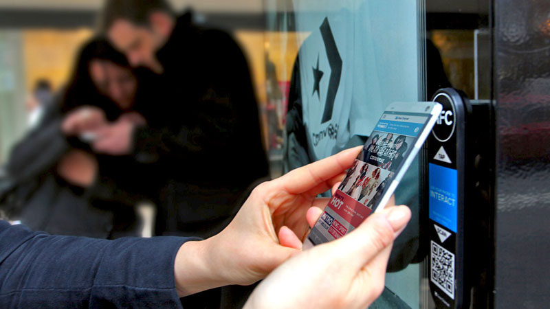 How large format displays are becoming digital payment kiosks