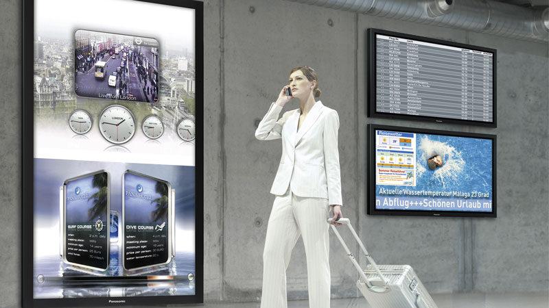 digital signage with audio