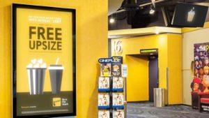 large format displays in cinemas
