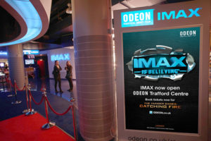 large format displays in cinemas