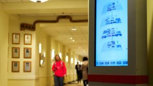 digital signage in libraries