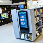 Libraries are thriving thanks to large format digital displays