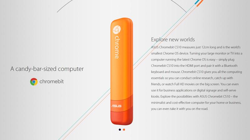 Digital signage outdoor advice: ASUS Chromebit