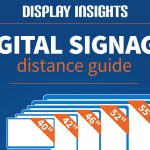 INFOGRAPHIC: The Display Insights digital signage distance guide