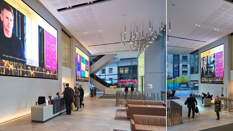 Designing for digital signage screens: the pro's guide Aviva 2