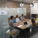 Boost business collaboration with a smart huddle room